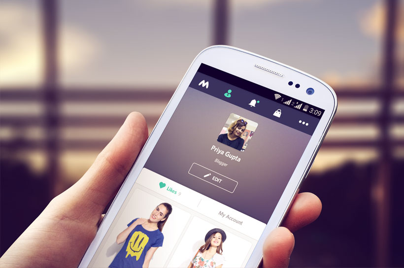 Like Products on Myntra, Android Update, Myntra v2 App