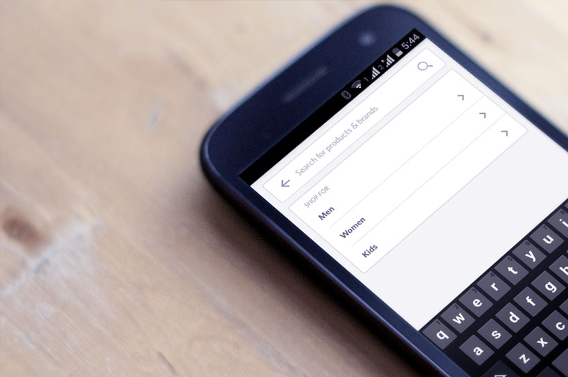 Myntra V2 App Search Function