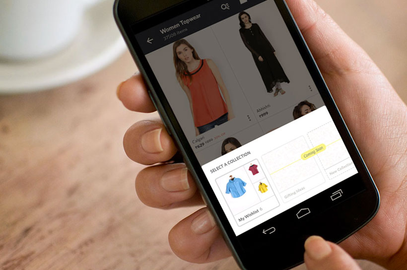 Create Collections on Myntra V2 App