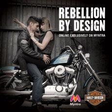 Harley Davidson Launches on Myntra